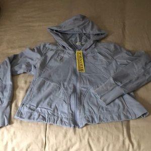 Zip up shirt jacket